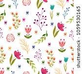 seamless pattern illustration... | Shutterstock .eps vector #1059530165