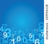 number background | Shutterstock .eps vector #105954128
