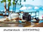 summer holiday vacation... | Shutterstock . vector #1059549962