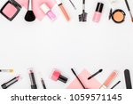 set of professional decorative... | Shutterstock . vector #1059571145