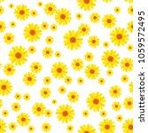 lovely floral seamless pattern...   Shutterstock .eps vector #1059572495