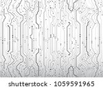 computer communication... | Shutterstock .eps vector #1059591965