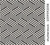 vector seamless pattern. modern ... | Shutterstock .eps vector #1059592058
