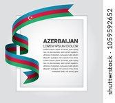azerbaijan flag background | Shutterstock .eps vector #1059592652