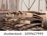 Wooden Barrel Staves