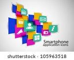 social media concept   vector... | Shutterstock .eps vector #105963518