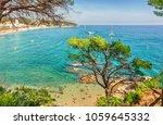 lloret de mar  costa brava ... | Shutterstock . vector #1059645332
