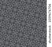 seamless linear pattern with... | Shutterstock .eps vector #1059676706
