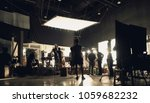 blurry image of making movie... | Shutterstock . vector #1059682232