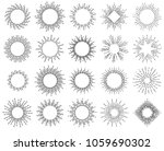 geometric hand drawn lines in... | Shutterstock .eps vector #1059690302