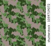 unusual ufo camouflage  ...   Shutterstock .eps vector #1059719072