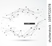 global network connection.... | Shutterstock .eps vector #1059722078