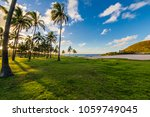 anakena beach inside easter... | Shutterstock . vector #1059749045