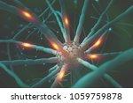 neural networks. nanotechnology ... | Shutterstock . vector #1059759878