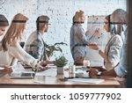 inspired to work hard. modern... | Shutterstock . vector #1059777902