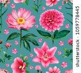 watercolor illustrations of...   Shutterstock . vector #1059778445