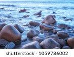 scenic seascape natural... | Shutterstock . vector #1059786002