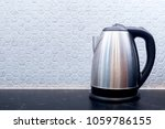 electric stainless steel kettle ... | Shutterstock . vector #1059786155