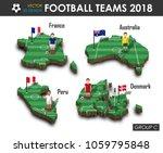 national soccer teams group c . ... | Shutterstock .eps vector #1059795848