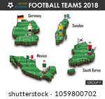 national soccer teams group f . ... | Shutterstock .eps vector #1059800702