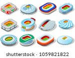 russia world cup 2018 stadium.... | Shutterstock . vector #1059821822