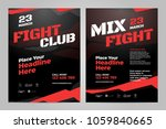 vector layout design template... | Shutterstock .eps vector #1059840665