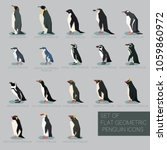 set of flat geometric species... | Shutterstock .eps vector #1059860972