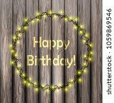 vector llustration happy... | Shutterstock .eps vector #1059869546
