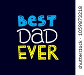 happy father's day banner and... | Shutterstock .eps vector #1059873218