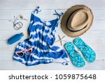 women's casual clothes with...   Shutterstock . vector #1059875648