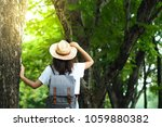 happy lifestyle portrait of a...   Shutterstock . vector #1059880382