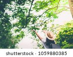 happy lifestyle portrait of a...   Shutterstock . vector #1059880385