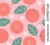 seamless pattern. pink... | Shutterstock .eps vector #1059887168