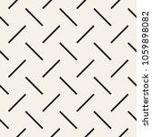 trendy monochrome twill weave... | Shutterstock .eps vector #1059898082