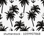 beautiful seamless tropical ...   Shutterstock .eps vector #1059907868