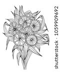 outline vector drawing of... | Shutterstock .eps vector #1059909692