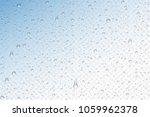 vector realistic water drops... | Shutterstock .eps vector #1059962378