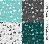 seamless pattern with graphs... | Shutterstock .eps vector #1059972638