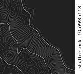 topographic map background.... | Shutterstock .eps vector #1059985118