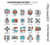 communication. social media.... | Shutterstock .eps vector #1059997562