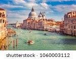 grand canal and basilica santa... | Shutterstock . vector #1060003112