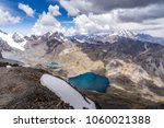 hiking in the cordillera real ... | Shutterstock . vector #1060021388