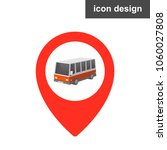 vehicle geoposition icon | Shutterstock .eps vector #1060027808