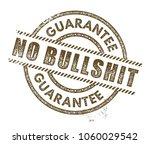no bullshit stamp | Shutterstock .eps vector #1060029542