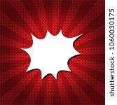 speech bubble pop art comic... | Shutterstock .eps vector #1060030175