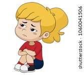 she was disappointed and regret ... | Shutterstock .eps vector #1060041506