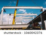industrial assembly of... | Shutterstock . vector #1060042376