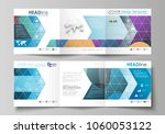 set of business templates for... | Shutterstock .eps vector #1060053122