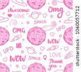 abstract pink space art for...   Shutterstock .eps vector #1060057712