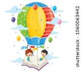 vector illustration of kids...   Shutterstock .eps vector #1060063442